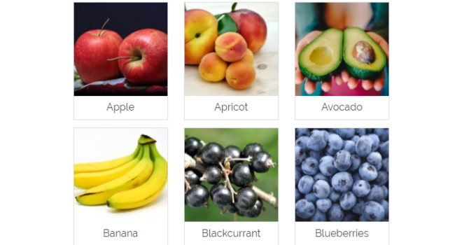 All fruits name in Hindi